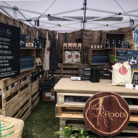 Roots pop-up Farm Shop