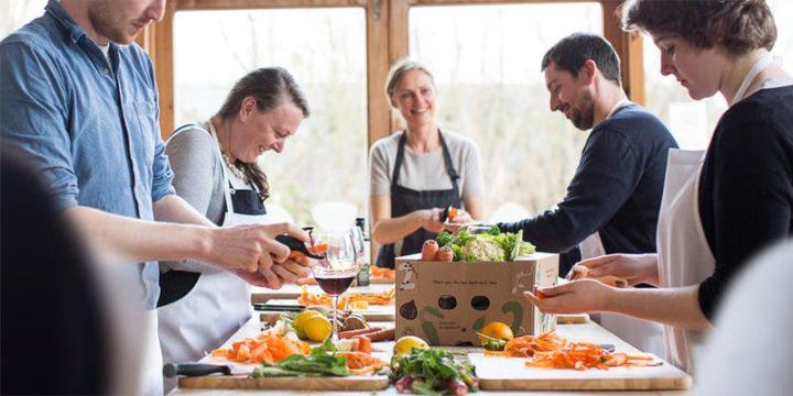 Riverford Master Veg Organic Cookery Class